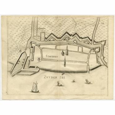 Staveren - Priorato (1673)