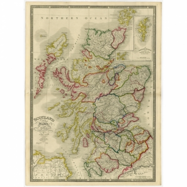 Scotland with its Islands (..) - Wyld (1854)