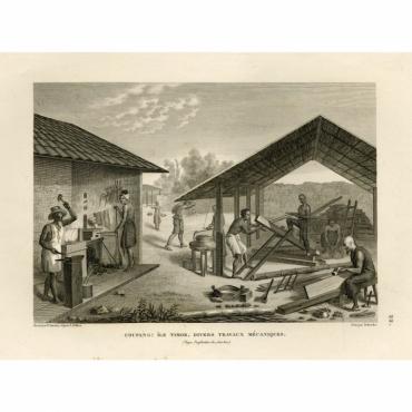 Coupang: Ile Timor. Divers Travaux Mecaniques - Schroeder (1825)