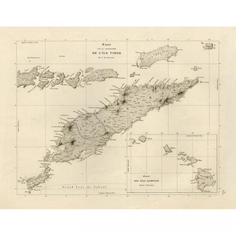 Essai sur la Geographie de l'Ile Timor - Anonymous (1825)