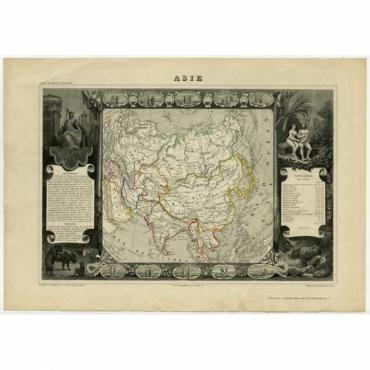 Asie - Laguillermie (1856)