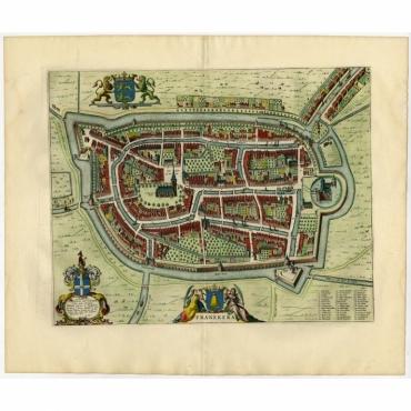 Franekera - Blaeu (1652)