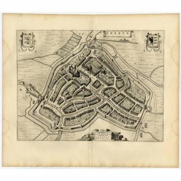 Sneeck - Blaeu (1652)