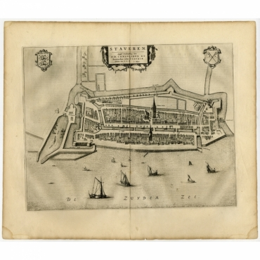 Staveren - Blaeu (1652)