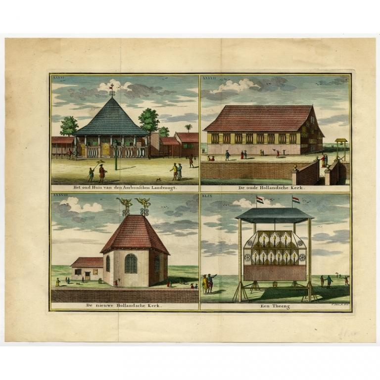 Het oud Huis van den Ambonschen Landvoogt (..) - Valentijn (1724)