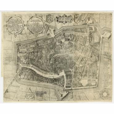 Leeuwerden de hooft stadt van Frislant (..) - Bast (1603)