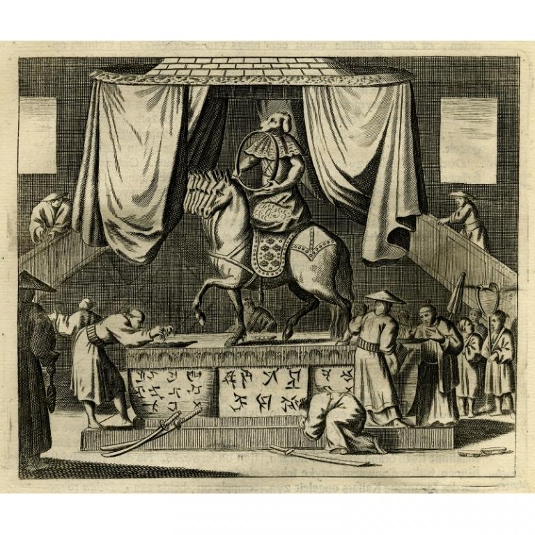 De tempel der goude Amida - Montanus (1669)