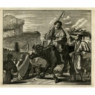Japansche boeren en boerinnen - Montanus (1669)