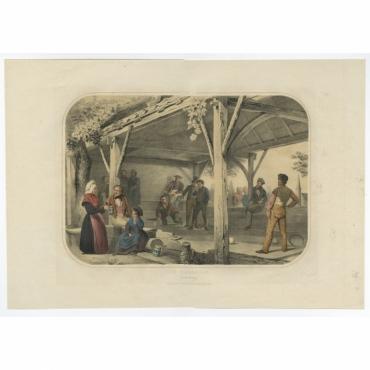 Pl.IV De Beugelbaan - Le Jeu de Passe - Uberfeldt (1857)