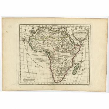 L' Afrique - Vaugondy (c.1780)