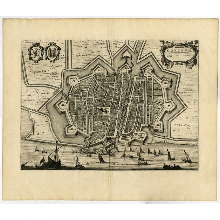 Gorchum - Blaeu (1649)