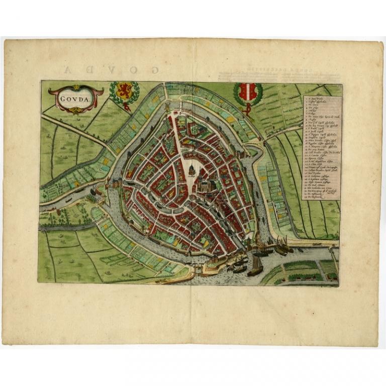 Gouda - Hogenberg (1572)