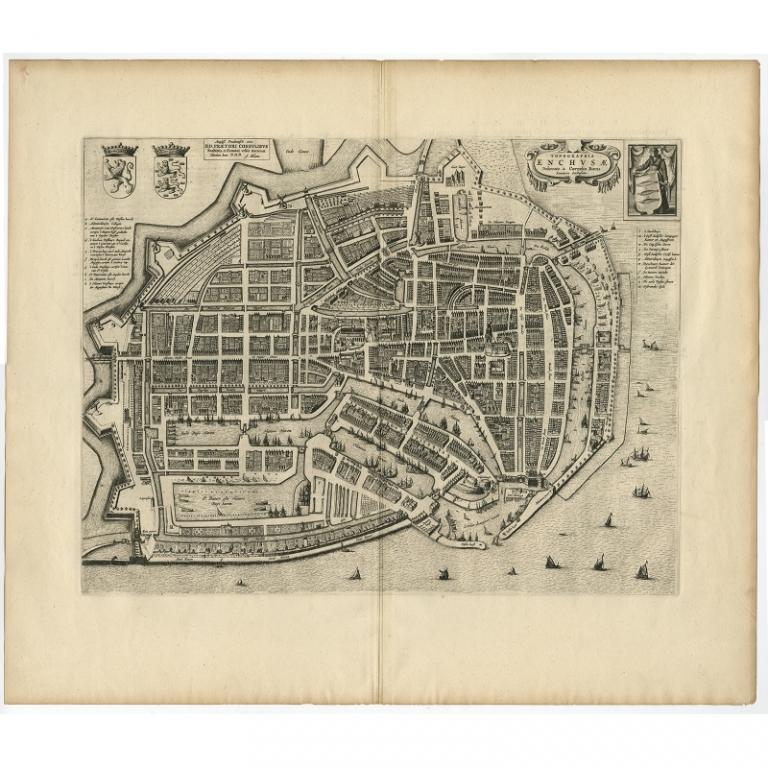 Topographia Enchusae - Blaeu (1649)