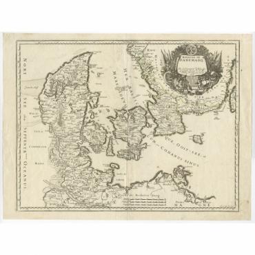 Royaume de Danemarq - Cordier (c.1658)