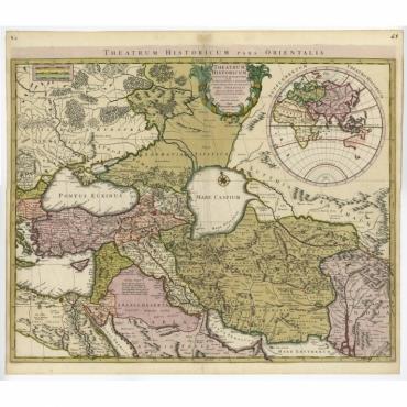 Theatrum Historicum pars Orientalis - De l'Isle (c.1745)