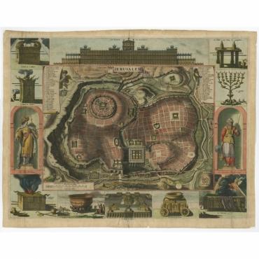 Ierusalem - Berchem (1669)