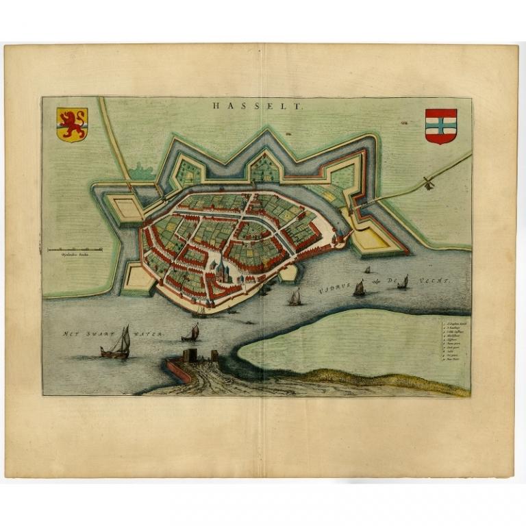 Hasselt - Blaeu (1649)