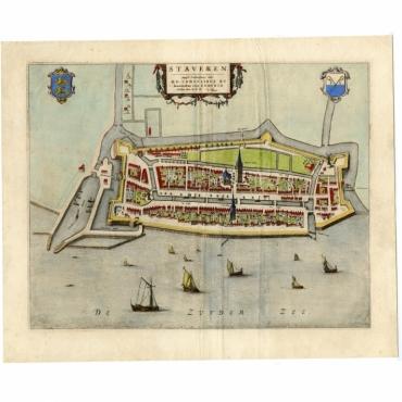Staveren - Blaeu (1649)