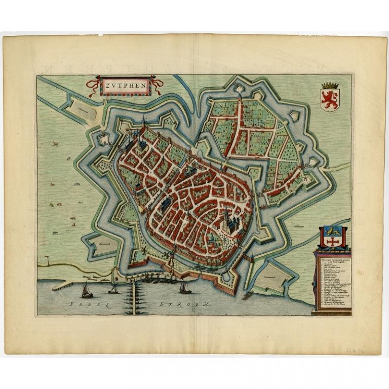Zutphen - Blaeu (1649)