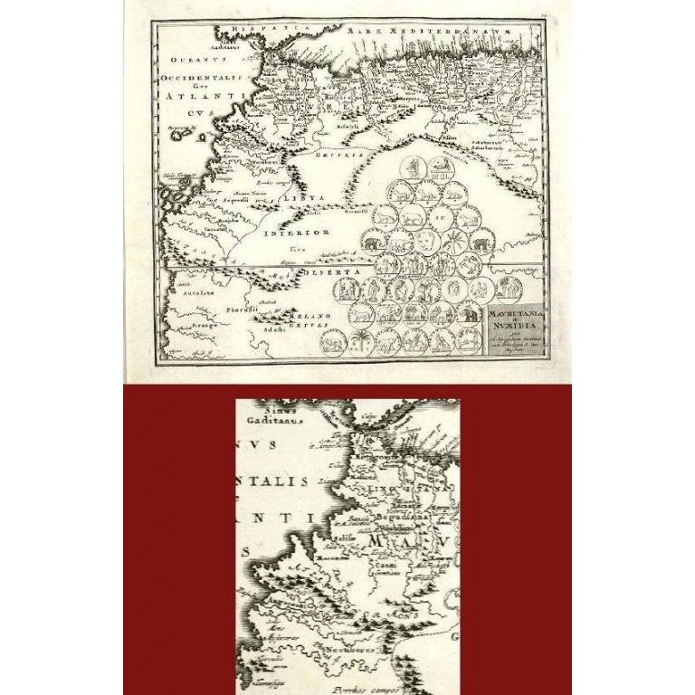 Mauretania et Numidia - Weigel (1712)