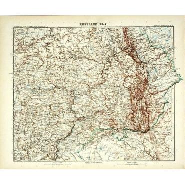 Bl.4 Russland - Stieler (1905)