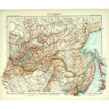 Bl.58 Ost-Sibirien - Stieler (1905)