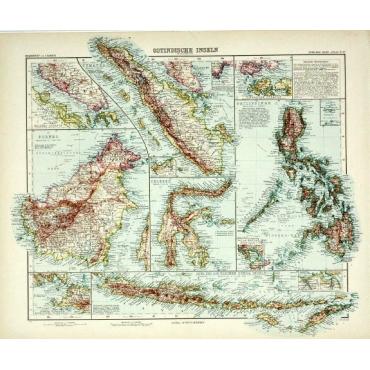 Pl.67 Ostindische Inseln - Stieler (1905)