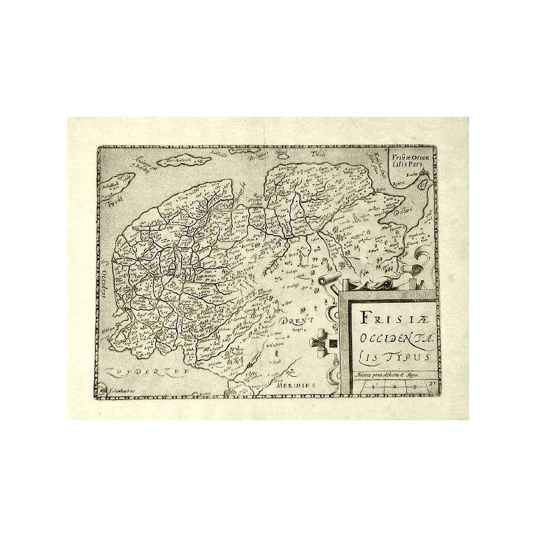 Frisiae Occidentalis Typus - Guicciardini (1612)