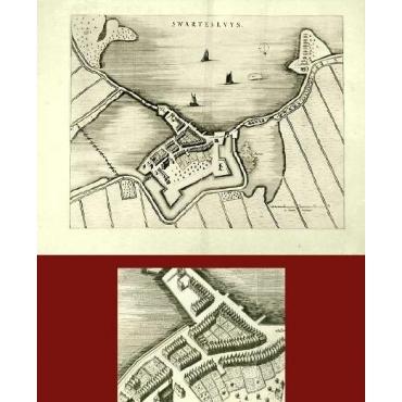 Swartesluys - Blaeu (1649)