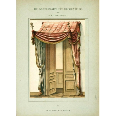 No.33 Mustermappe des Decorateurs - Streitenfeld (1888)