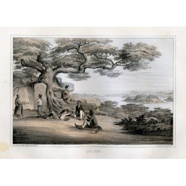 Lew Chew - Landscape view - Heine (1857)
