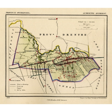 Gemeente Avereest - Kuyper (1865)