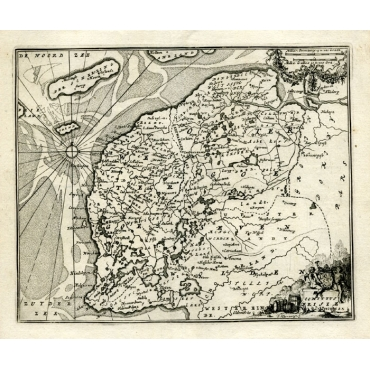 Comitatus Frisiae - Bachiene (1758)
