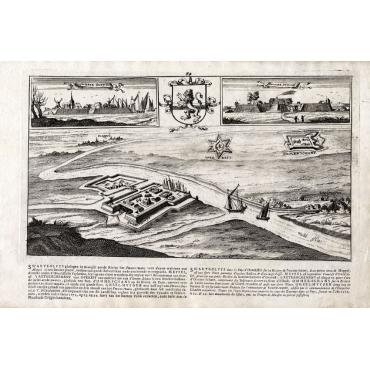 Swerte Sluys - Ommer Schans - Bouttats (1680)