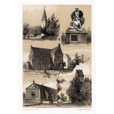 Views of Schildwolde, Heiligerlee, Zuidbroek, Beerta & Slochteren - Craandijk (1888)