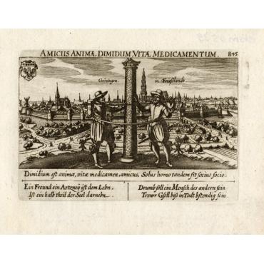 Groningen in Frieslandt - Meisner (1678)