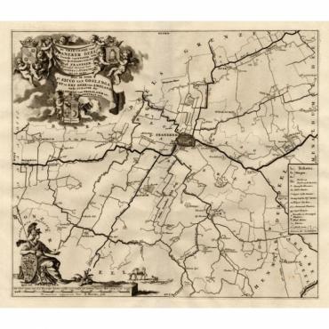De Grietenije van Franeker Deel, de tweede van Wester Goo - Halma (1718)