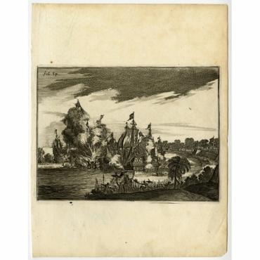 Victorieuse Batalie der Hollanders - Schouten (1708)