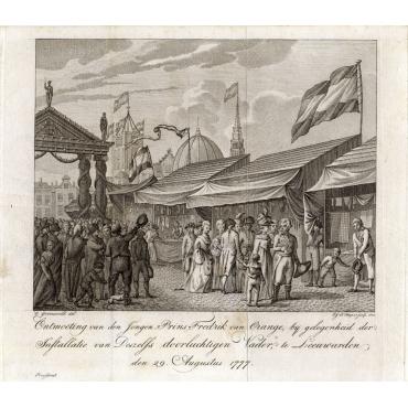 Ontmoeting van den Jongen Prins Frederik van Oranje (..) - Huyzer (1802)