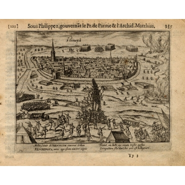 Pl.123 Siege of Steenwijk by Rennenberg - Baudartius (1616)