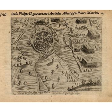 Pl.233 Siege of Oldenzaal, Enschede & Ootmarsum - Baudartius (1616)