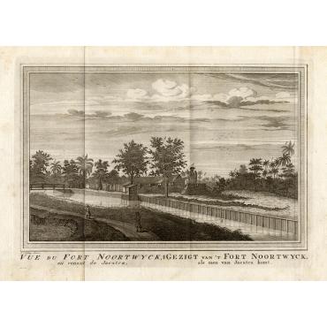 Vue du Fort Noortwyck II - Schley (1750)