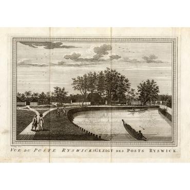 Vue du Poste Ryswick - Schley (1750)