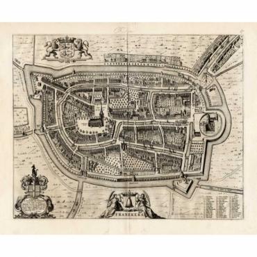 Franekera - Blaeu (1649)