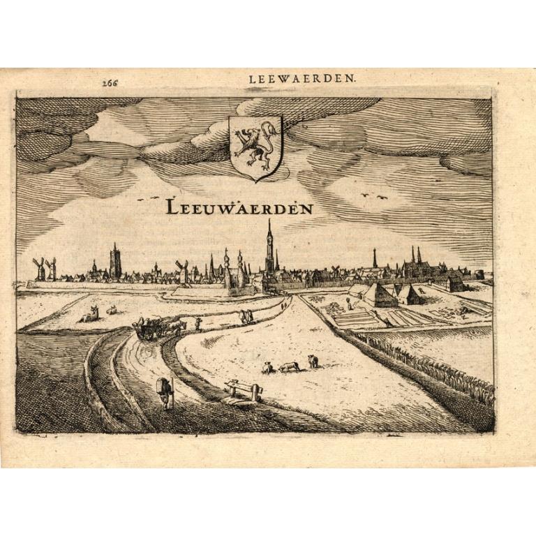 Leeuwaerden - Guicciardini (1613)