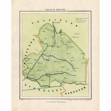 Provincie Drenthe - Kuyper (1865)