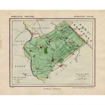 Gemeente Anloo - Kuyper (1865)