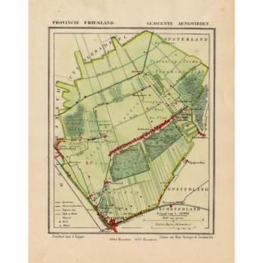 Gemeente Aengwirden - Kuyper (1865)