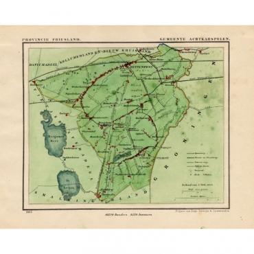 Gemeente Achtkarspelen - Kuyper (1865)