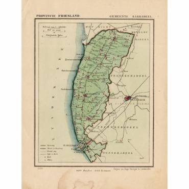 Gemeente Barradeel - Kuyper (1865)